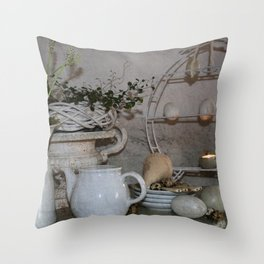 Shabby Charme Happy Easter Throw Pillow