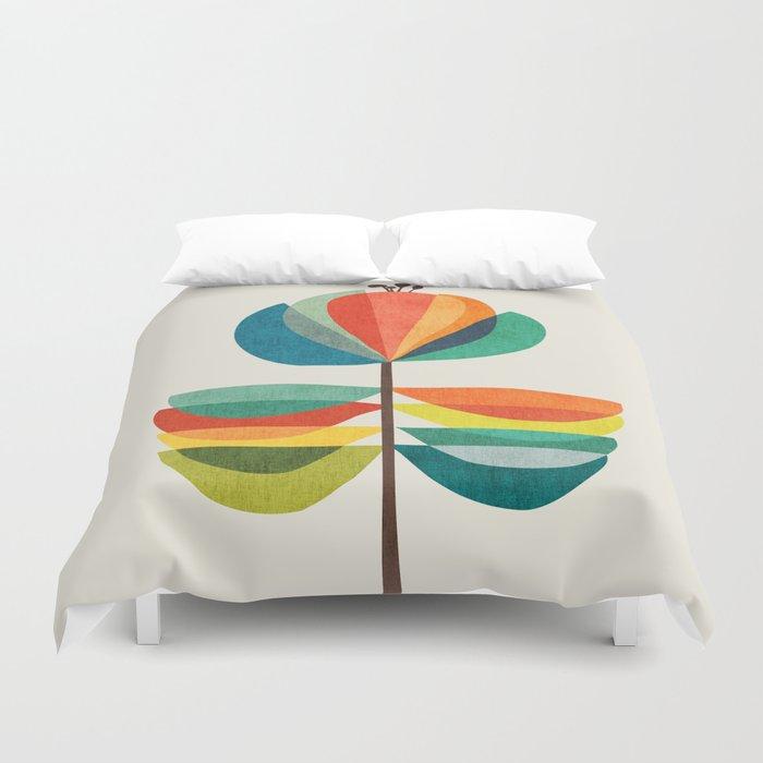 Whimsical Bloom Duvet Cover