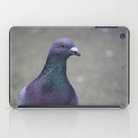 pigeon iPad Cases featuring Pigeon by Jess Wagstaff