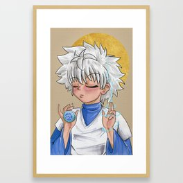 Saint Killua Framed Art Print