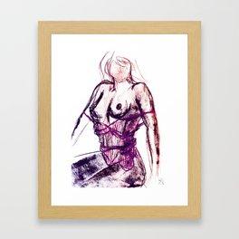 Sexy Ladies 04 Framed Art Print