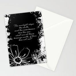 Percy Bysshe Shelley - Love's Philosophy Stationery Cards