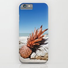 Rose Gold Pineapple Awesome Slim Case iPhone 6s