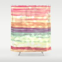pastel Shower Curtains featuring Pastel  by WhimsyRomance&Fun