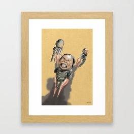 I need a goggle! Framed Art Print