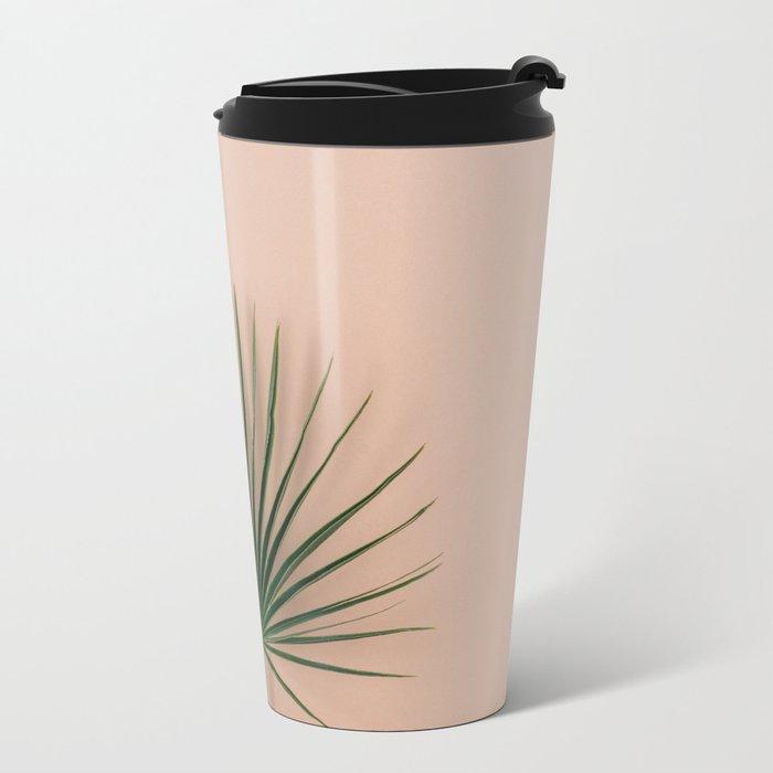 pink botanics Metal Travel Mug