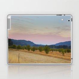 Full Moon over Orchard at Dusk Laptop & iPad Skin