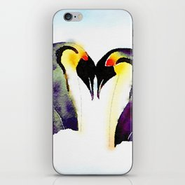 Penguin Love iPhone Skin