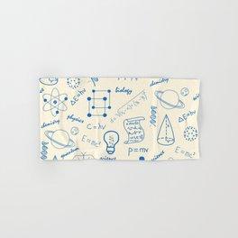 School Subjects Art For Science Lovers Hand & Bath Towel