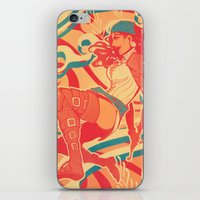 dragon age iPhone & iPod Skins featuring Dragon Age: Isabela by Sara Cuervo