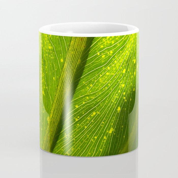 Spotted Leaf Coffee Mug