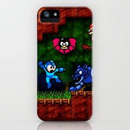 Megaman Woodman iPhone Case