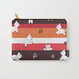 Happy Alpaca Carry-All Pouch