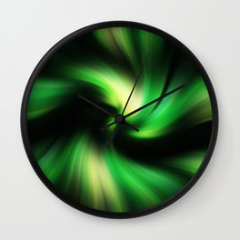 Abstract Fractal Background Wall Clock