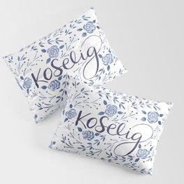 Koselig - Blue Pillow Sham