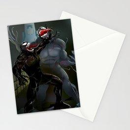 Venom battle Stationery Cards