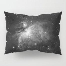 Galaxy (Black and White) Pillow Sham