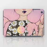 flora iPad Cases featuring Flora by lOll3