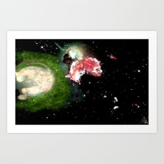 Birth of a Nebula Art Print