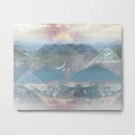 Ziggurat Metal Print