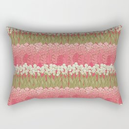 Mummies Flower Bed Rectangular Pillow