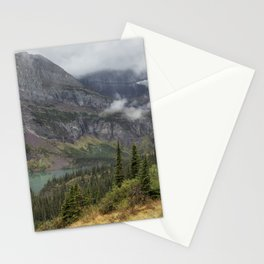 Grinnell Lake from the Trail No. 1 - Glacier NP Stationery Cards