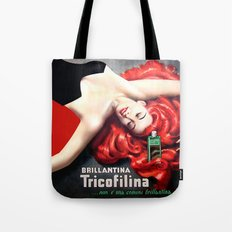 Vintage Brillantina Tricofilina Tote Bag
