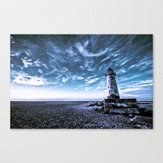 Point of Ayr Lighthouse Canvas Print