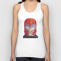 magneto Tank Tops featuring Magneto by Jconner