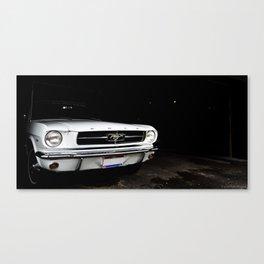 shark in the shadows Canvas Print