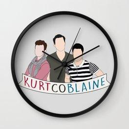 KurtCoBlaine Wall Clock