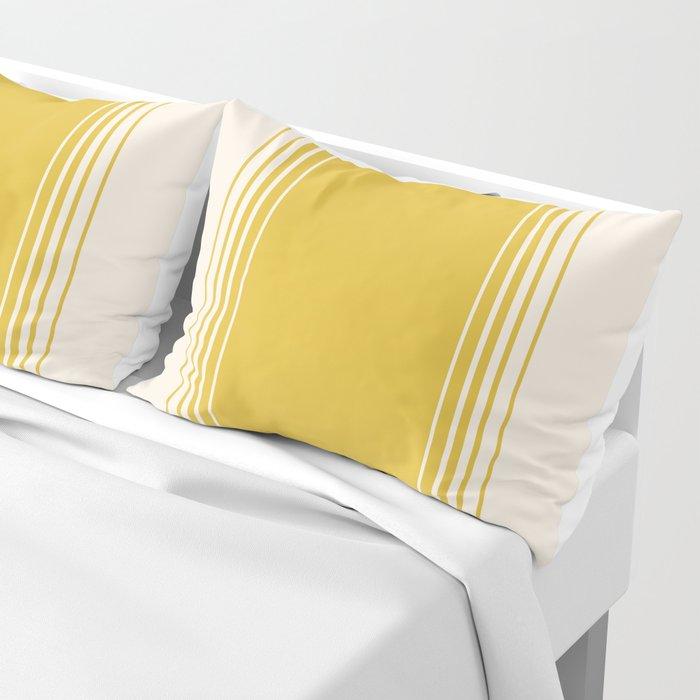 Marigold & Crème Vertical Gradient Pillow Sham