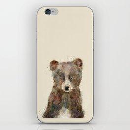 little brown bear iPhone Skin