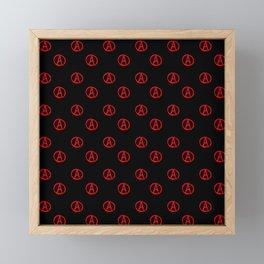 Symbol of anarchy 3 Framed Mini Art Print