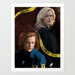 Scully x Stella Art Print