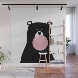 Bear gum Wall Mural