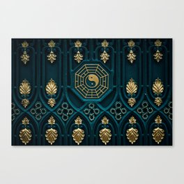 Leo Abstract Background Canvas Print