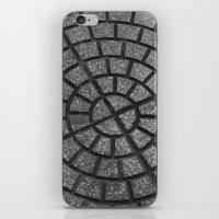 argentina iPhone & iPod Skins featuring Argentina Street by Nenhum Destes