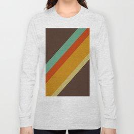 Retro 70s Color Palette Long Sleeve T-shirt