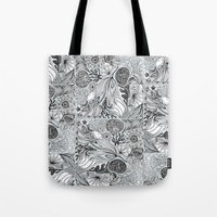 marina and the diamonds Tote Bags featuring Marina by Anchobee