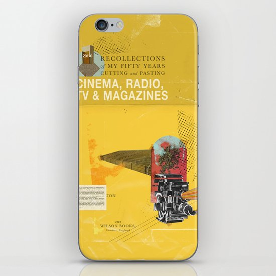 Cinema, Radio, TV and Magazines iPhone & iPod Skin
