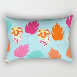 Leaves pattern #5S Rectangular Pillow