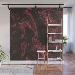 Adrift - Abstract Suminagashi Marble Series - 10 Wall Mural