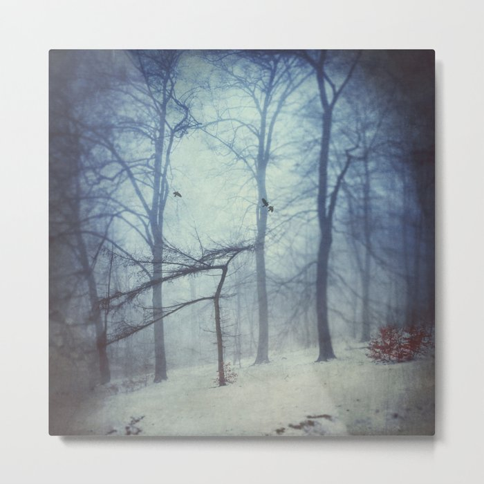 Faint Forest Metal Print