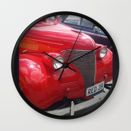 1939 Chevrolet Wall Clock