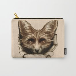 Hallo Fuchs! Mixed Media Art Carry-All Pouch