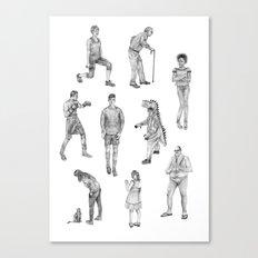 People Drawings! Canvas Print