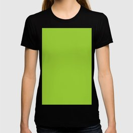 color yellow green T-shirt
