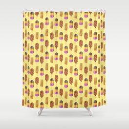Retro Pops Shower Curtain