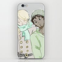 les mis iPhone & iPod Skins featuring pRouvaire Les Mis by Pruoviare